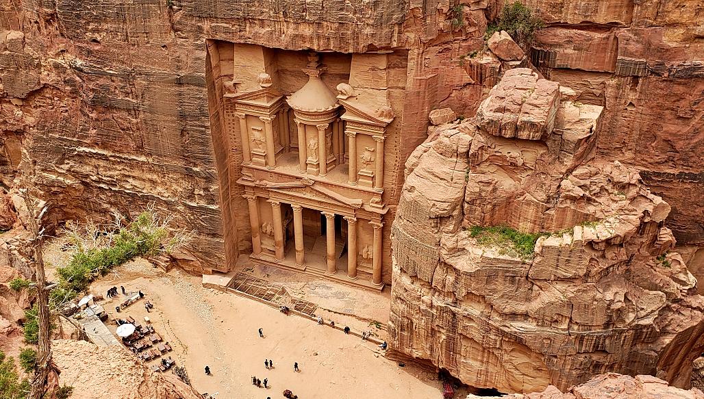 6 jours en Jordanie, visite de la ville d'Amman, le site historique de Pétra et le désert de Wadi Rum